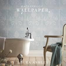 Laura Ashley Wallpaper Bedroom Waterproof Wallpaper British Ceramic Tile