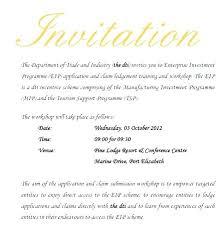 Business Invitation Sample Business Meeting Invitation Letter