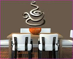 contemporary wall decor kitchen coffee canvas cafe metal unique cup 30 modern ideas