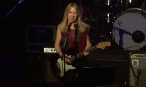 liz phair has been performing her biggest hit with holiday themed s