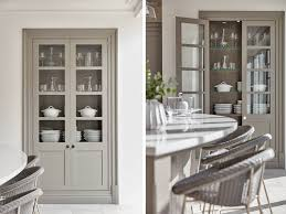 the beauty of glass fronted cabinets