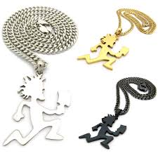 ping mens hatchet man hip hop pendant necklace gold silver black large w 5mm cuban chain 21447