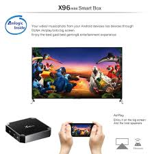 Zimtown X96 mini Quad Core S905W Android 7.1.2 4K*2K 2GB+16GB Media TV Box  Player - Walmart.com - Walmart.com