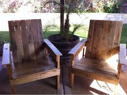 pallets patio furniture. Set Of Pallet Patio Chairs For $20 Pallets Furniture