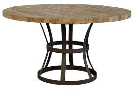 dining tables marvelous round industrial dining table industrial dining table diy wood and metal round