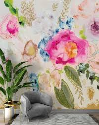 tea party wall mural 9 tall x 10 wide