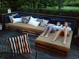 patio on a pallet best of pallet patio couch woodworking