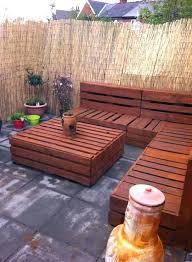 pallet outdoor furniture plans pallet patio
