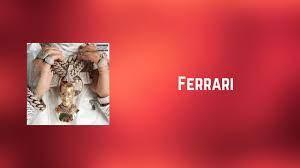 Anuel Aa Ferrari Lyrics Youtube