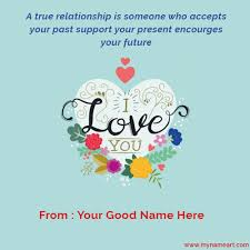 Photo Editor With Love Quotes Interesting Name Write On True Love Wishes Quotes Pictures Wishes Greeting Card