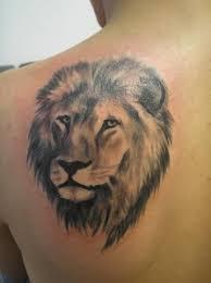 Znamení Lva Tetování