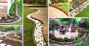40 amazing garden edging ideas for your