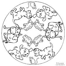 Mandala Kleurplaten Huisdieren