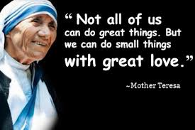 Mother Teresa Quotes Stunning Mother Teresa Quotes AtoZMom's Blog