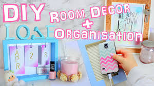 Room Decor Diy Diy Room Decor And Organization 2016 Youtube