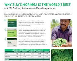 Moringa Comparison Chart Moringa Oleifera Superfoods Comparison Team Diamond Global