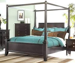 Canopy Bed Frame Twin Metal Canopy Bed Queen Full Size Frame Twin ...