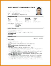 Sample Resume Pdf Amazing Resume In Job Application Sample Of For Job Job Application Samples