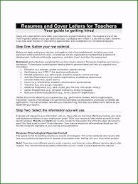Job Application Resume Cover Letter Teacher Resume Cover Letter 55 Aspects For 2019