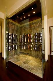 wine room lighting. Vintage View Metal Wine Cellar Contemporarywinecellar Room Lighting