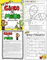 Kindergarten worksheets, Cinco de mayo ...