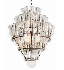 81 vintage glass bottle chandelier