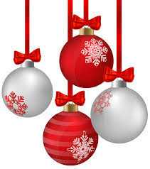 Image result for clipart of christmas decorations