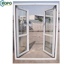 china import pvc profile open outside tempered glass doors china import doors pvc profile door