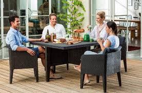 <b>Комплект мебели Keter Columbia</b> dining set, коричневый, цена ...