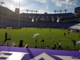 seat view for m t bank stadium section 112