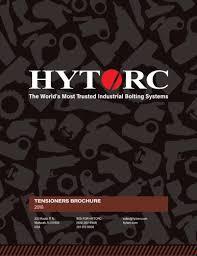 Jgun Torque Chart Hytorc Tensioners Hytorc Pdf Catalogs Technical