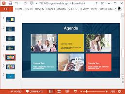 Powerpoint Create Slide Template Best Agenda Slide Templates For Powerpoint