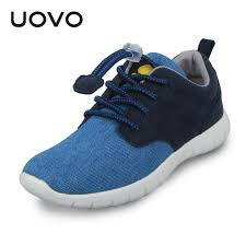 nike shoes 2016 casual. uovo light-weight boys casual canvas shoes denim fabric spring footwear for children little nike 2016