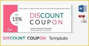 coupon templates word promo video templates free download of blank coupon