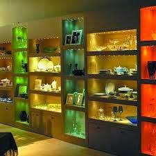 sculptures paintings display shelves and cabinets trophies bookshelves and beautiful dcor it is not used to add light to the room generally add task lighting