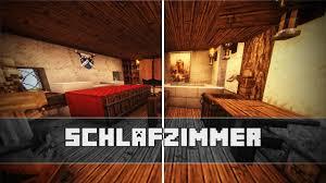 Schlafzimmer Mittelalterliche Einrichtung Minecraft Tutorial For