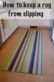 Carpet For Kitchen Floor Keep A Rug From Slipping Diy Project Aholic