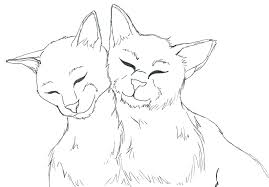 Free Printable Warrior Cat Coloring Pages Of Cats To Print A