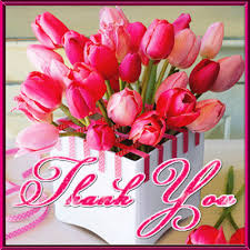 Free E Cards Thank You Pink Tulip Thank You Card Free For Everyone Ecards