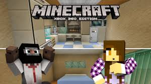Minecraft Modern Kitchen Minecraft Xbox Lets Play House Modern Kitchen Bedroom 9