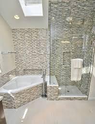 master bathroom corner showers. Master Bathroom - Shower And Corner Tub Contemporary-bathroom Showers D