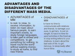 essay on merits and demerits of electronic media advantages and disadvantages of electronic media essay example