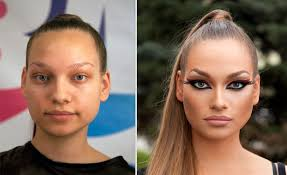 makeup transformations before and after