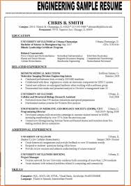 13 Resume Format Examples 2016 Budget Template Letter