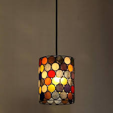 stained glass pendant lighting modern lights stained