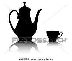 coffee pot silhouette. Simple Coffee Clip Art  Silhouette Of A Coffee Pot  Fotosearch Search Clipart  Illustration Posters Intended Coffee Pot T