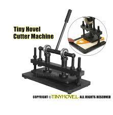 heavy duty hand leather cutting machine photo paper pvc eva image 0