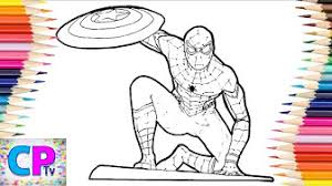 Please contact us if it contains a copyright. Spiderman Coloring Pages Youtube