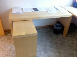 desk ikea glass top computer