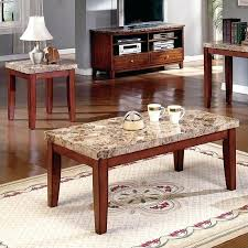 steve silver end tables silver company 3 piece marble coffee table set in cherry steve silver